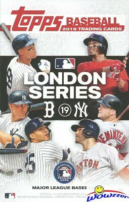 2019 Topps Baseball LONDON SERIES EXCLUSIVE 21 Card Factory Sealed Box Set!