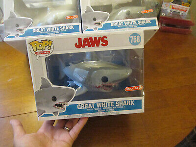Funko Pop Jaws Great White Shark # 758 Exclusive Target 2019 Bloody Mouth
