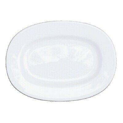 Churchill Alchemy Rimmed Oval Dishes 280mm - C718