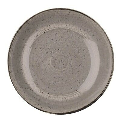 Churchill Stonecast Round Coupe Bowl Peppercorn Grey 315mm - DK556