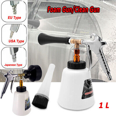 Car Snow Foam Clean Guns Washing Garden Hose Window Soap Cleaning Guns Brush LOT