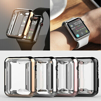 iWatch 38-44mm Screen Protector Case Snap On Cover for Apple Watch Series 4/3