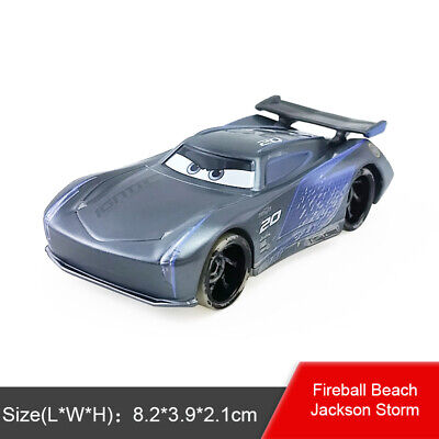 DISNEY PIXAR CARS JACKSON STORM NEW WITHOUT THE PACKAGING SAVE 6/% 8/%