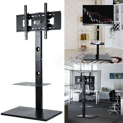 "Height Adjustable TV Cart Floor Stand Mount Home DVD Display for 32""-65"" Samsung"