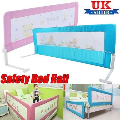 Child Baby Toddler Safety Guard Bed Rail Protection Folding Bedrail 150 / 180 CM