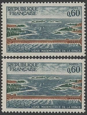 """FRANCE TIMBRE N° 1507 """" USINE RANCE VARIETE ILE SECTIONNEE """" NEUF xx LUXE  T363"""