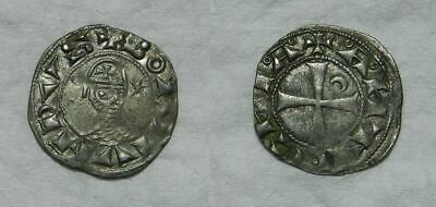CRUSADERS : BOHEMUND III (1163-1201) SILVER DENIER of ANTIOCH