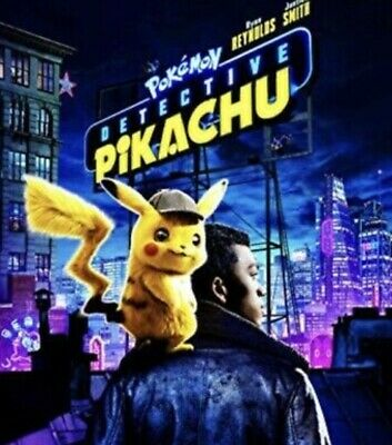 Pokemon: Detective Pikachu [DVD] [2019] NEW * PRE-SALE SHIPS ON 08/06/19