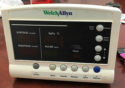 Welch Allyn: SPO2, Blood Pressure Monitor - Parts Only - FREE SHIPPING