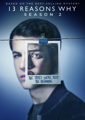 13 Reasons Why: Season 2 [New DVD] Boxed Set, Dolby, Subtitled, Widescreen, Ac