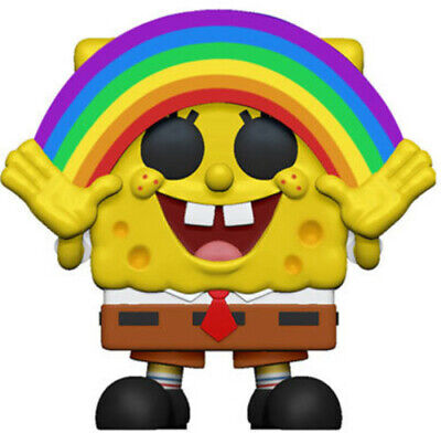 FUNKO POP! ANIMATION: SpongeBob - SpongeBob Rainbow [New Toys] Vinyl Figure