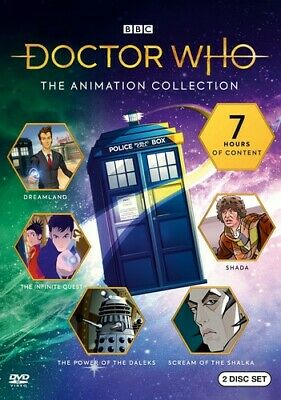 Doctor Who: The Animated Collection [New DVD] 2 Pack, Eco Amaray Case