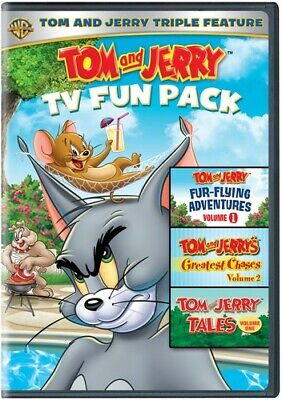 Tom And Jerry TV Fun Pack [New DVD] 2 Pack, Eco Amaray Case, Repackaged