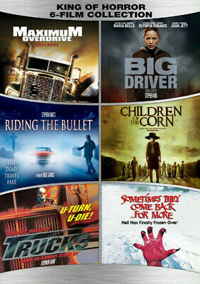 Stephen King 6-film Collection [New DVD] Boxed Set, Dolby, Digital Theater Sys