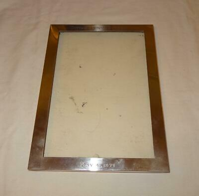 American Solid Silver Frame Personal Effects Estate Harold Wilson Prime Minister