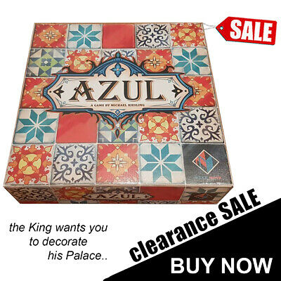 AZUL Board Game New Sealed Xmas Gifts Family Party Toy