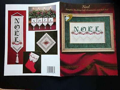 Noel EMIE BISHOP Christmas Hardanger Sampler Pattern Cross 'N Patch Embroidery
