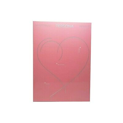 BTS MAP OF THE SOUL PERSONA Album CD 2019 version 2 Photo Book, Card, Post card