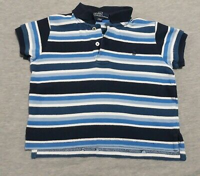 Toddler Boys Shirt Short Sleeves Polo By Ralph Lauren 24 Months Free Shipping