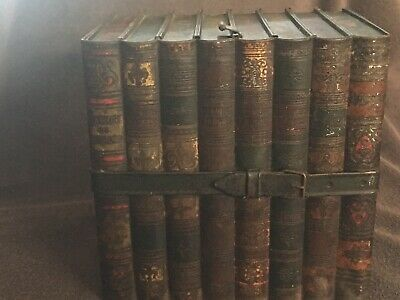 "Antique Huntley & Palmers  Books ""Literature"" Biscuit Tin"