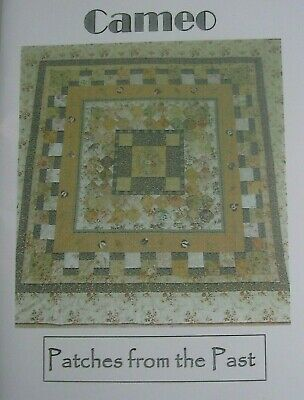 PATCHES from the PAST Cameo pieced QUILT pattern Ruth Van Haeff design