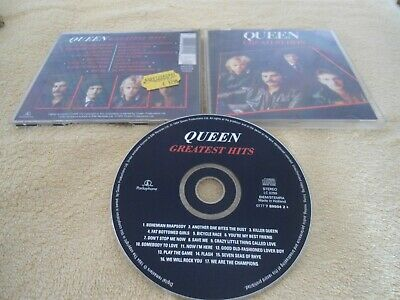 CD QUEEN - GREATEST HITS - PARLOPHONE Made in Holland Digital Remasters 1994 RAR