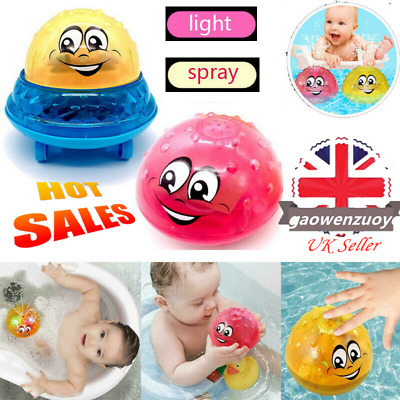 UK Funny Infant Electric Induction Water Spray Toy Children Baby Bath Shower Kid