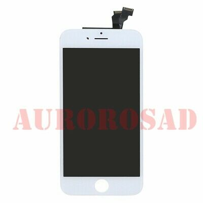 neuf retina sur chassis pour iphone 6 blanc ecran lcd display vitre tactile