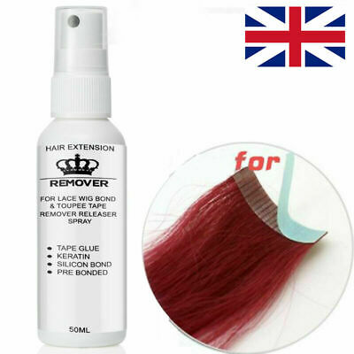Tape in Hair Extension Weft Wig Fusion Hairs Glue Bond Remover Liquid 50ML