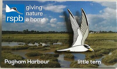 RSPB Pin Badge | Little Tern | Pagham Harbour [01427]