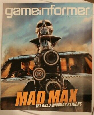 GameInformer Magazine Mad Max The Road Warrior Returns Issue 264 April 2015