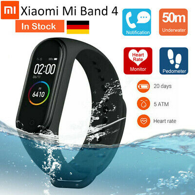 Original  Xiaomi Mi Band 4 Smart Wristband Bracelet AMOLED Screen Waterproof DE