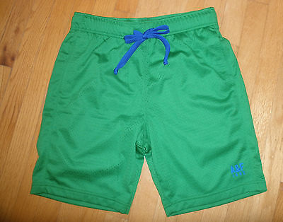 Mens or Teen Boys Small S Abercrombie & Fitch Dark Green Athletic Mesh Shorts