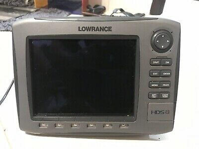 LOWRANCE HDS 5 Lake Insight W/ Manual And Wires  (Tested