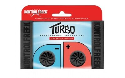 KontrolFreek FPS Freek Turbo Thumbsticks Grips for Nintendo Switch Black
