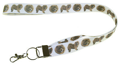 Chow Chow Breed of Dog Lanyard Key Card Holder Perfect Gift