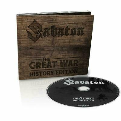 SABATON THE GREAT WAR HISTORY EDITION CD (Released JULY 19th 2019)