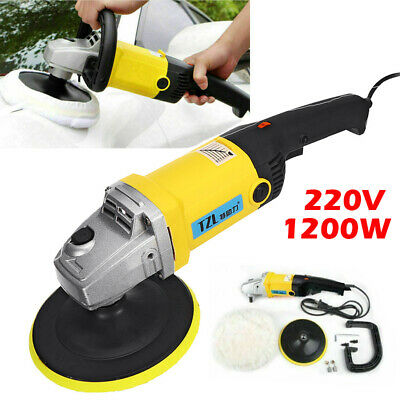 Variable Speed Power Polisher Car Paint Care Tool Polishing Machine Sander Kit