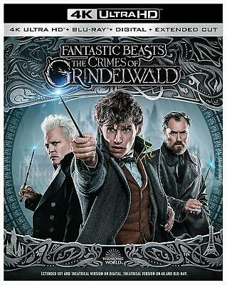 Fantastic Beasts The Crimes Of Grindelwald (4k Ultra HD + Blu-ray) HDR