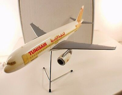 AIR PLAST ITALIE AIRBUS A320 TUNISAIR avion d'agence airplane RARE 1/100