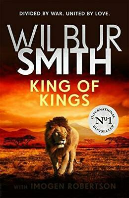 King of Kings by Wilbur Smith and Imogen Robertson Hardback NEW Book