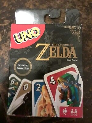 Brand New Zelda Uno Card Game with Special Rule Gamestop Exclusive Edition HTF