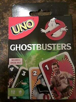 Ghostbusters UNO Game Card with Special Rule (2019)