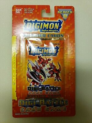 DIGIMON DIGI-BATTLE BOOSTER PACKS Series 5
