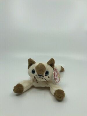 1996 RETIRED RARE Chip Beanie Baby Collectible Cat TY brand