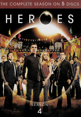 Heroes: Season 4 (Keepcase) (Dvd)