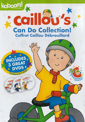 CAILLOU: FAMILY COLLECTION, Vol. 12 (DVD, 2006, Bilingual ... Caillou Family Collection Dvd Ebay