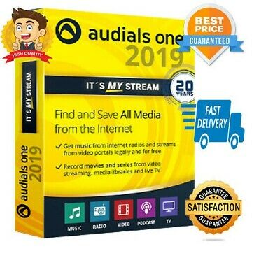 🔥 Audials One 2019 🔥 Platinum 🔐 LIFETIME LICENSE KEY 🔐 Fast Delivery 📥