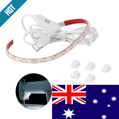 Sewing Machine Light,LED Lighting Strip kit Cold White with Touch dimmer and USB