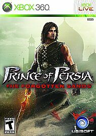 Prince of Persia: The Forgotten Sands (Microsoft Xbox 360, 2010) GOOD